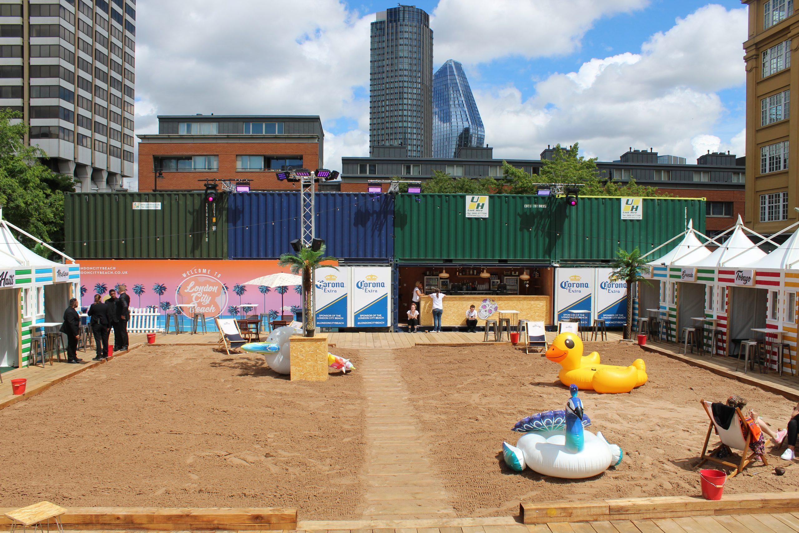 London Corporate summer venue party hire